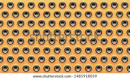 Amarelo preto cinza alto-falante textura luz Foto stock © cidepix