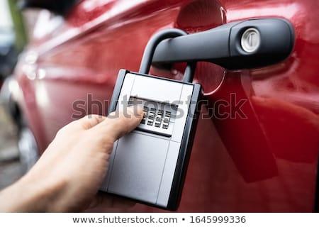 Key Safe With Car Keys Securely Stored Inside Stock photo © AndreyPopov