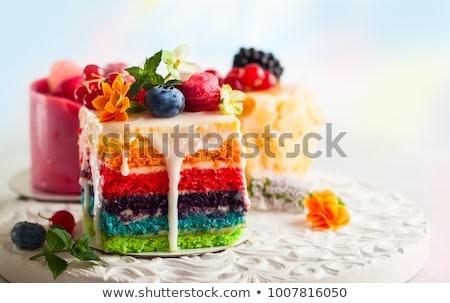 изюм · торты · небольшой · губки · продовольствие - Сток-фото © photosil