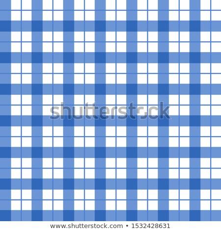 Blauw · weefsel · knoopsgat · textuur - stockfoto © ruslanomega