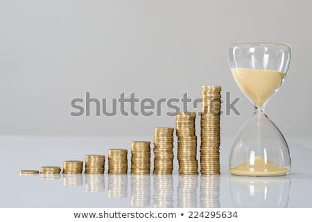 cronógrafo · primer · plano · euros · tiempo · financiar - foto stock © lightkeeper