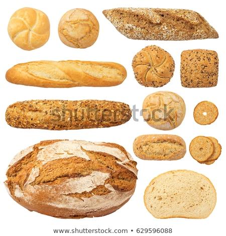 verschillend · brood · geïsoleerd · leven · poppy · dieet - stockfoto © ozaiachin