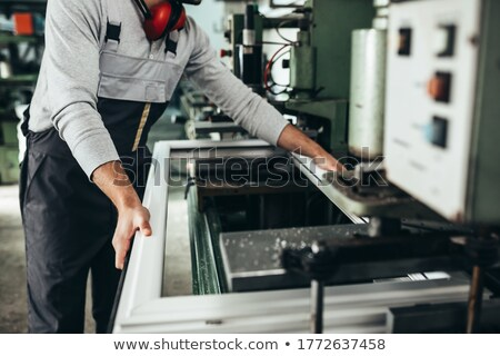 Stock photo: Bearded manual worker