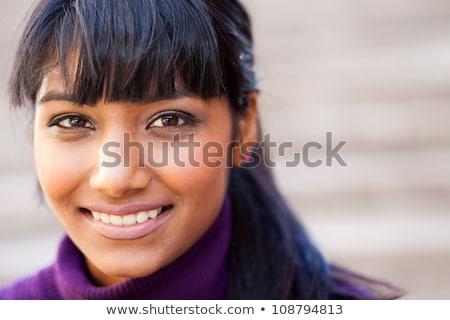 Beautiful Asian teenage uni student  Stock photo © szefei