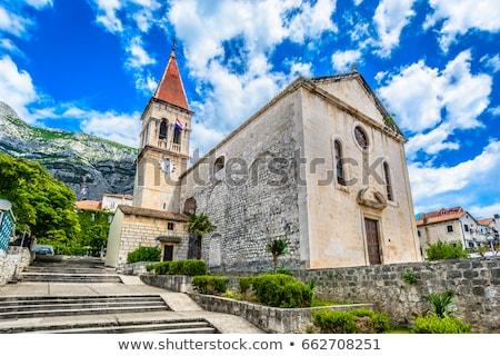 Saint Mark's Church in Makarska, Croatia Stock photo © anshar
