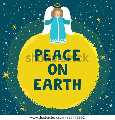 christmas · wereldbol · aarde · heldere · vrolijk · scène - stockfoto © marimorena
