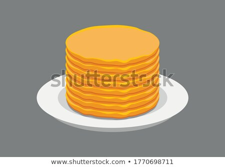 stack of crepes Stock photo © M-studio