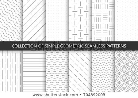 Geometrik minimalist model vektör gri Stok fotoğraf © orson