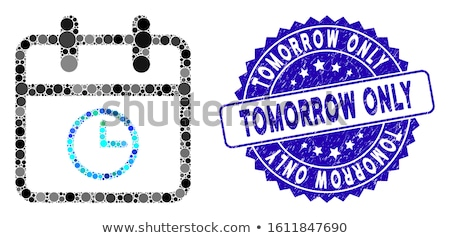 Limited Blue Sticky Notes Vector Icon Design Stock photo © rizwanali3d