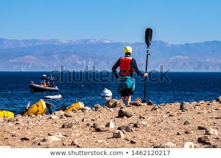 島 海岸線 サンタクロース カリフォルニア チャンネル 島々 ストックフォト © master1305