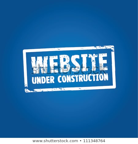 Under Construction Blue Vector Icon Design Stock photo © rizwanali3d