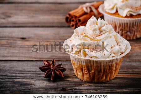 秋 装飾された 秋 プレート ストックフォト © rojoimages