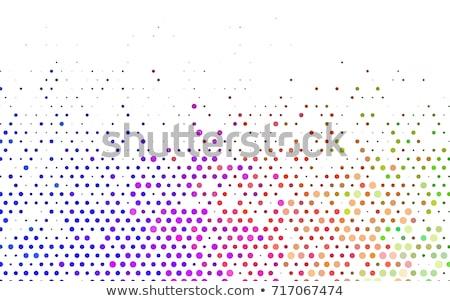 Rainbow dot background Stock photo © gladiolus