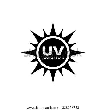 защищенный знак фиолетовый вектора икона дизайна Сток-фото © rizwanali3d