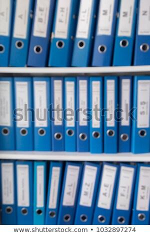 orders on ring binder blurred image stock photo © tashatuvango
