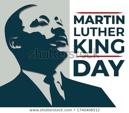 Luther King day illustration Stock photo © Olena