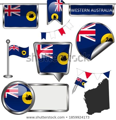 Western Australia state badge Stock photo © speedfighter