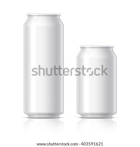 Beer can icon on light background. Vector isolated Illustration. Stock photo © kyryloff