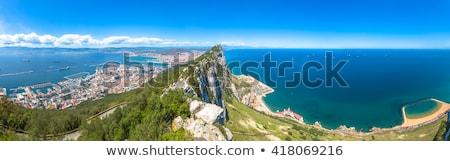 Panorama of Gibraltar Stock photo © benkrut