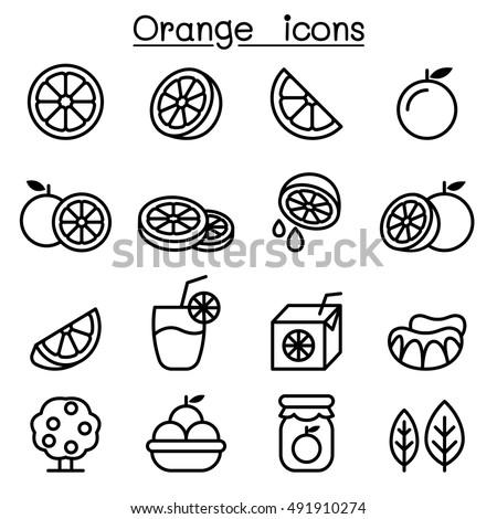 fél · narancs · izolált · fehér · étel · szín - stock fotó © blaskorizov