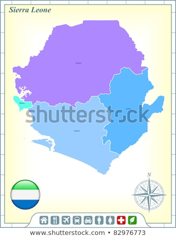 House with flag of sierra leone Stock photo © MikhailMishchenko