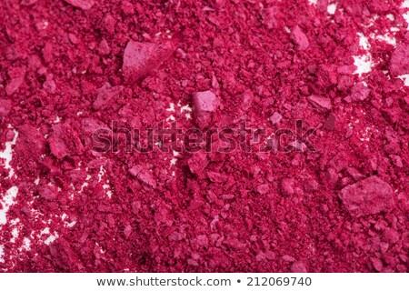 Close-up of Blush with Brush Stock photo © dariazu