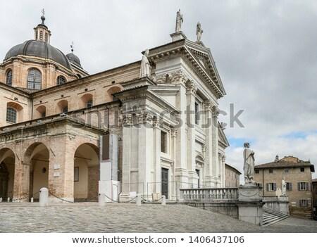Kathedraal Italië Romeinse katholiek stad toegewijd Stockfoto © borisb17