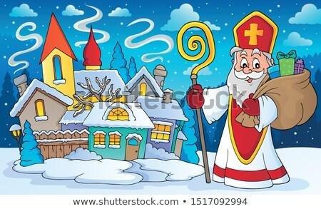 saint nicholas topic image 6 stock photo © clairev