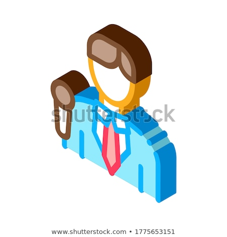 Reportero icono vector signo color Foto stock © pikepicture