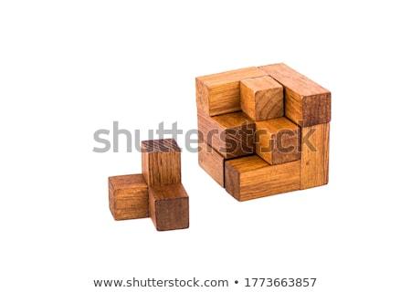 cube puzzle Stock photo © ivonnewierink