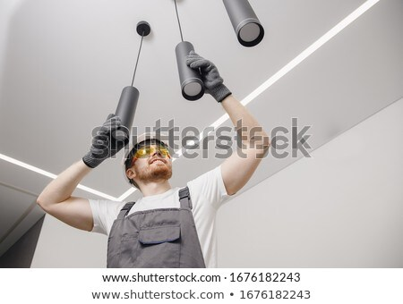 Worker installing a plug Stock photo © photography33