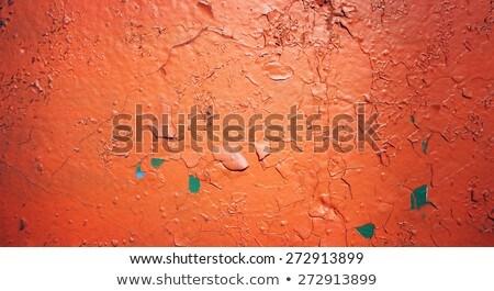 messy graffiti and peeling paint Stock photo © sirylok