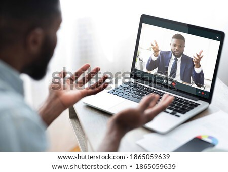 Man yelling at his assistant Stock photo © photography33