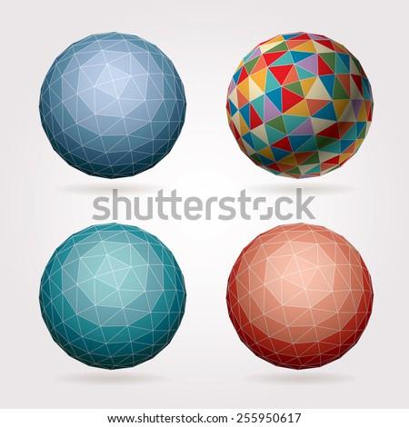 Abstract Fractal Globe Stock photo © hlehnerer