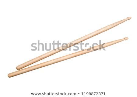 Wood Drumsticks Stock photo © javiercorrea15