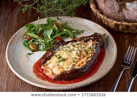 stuffed mozzarella Stock photo © joker