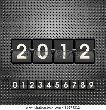 2014 · празднования · шаблон · вектора · брошюра · с · Новым · годом - Сток-фото © place4design