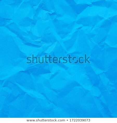 blue crumpled paper texture stock photo © homydesign