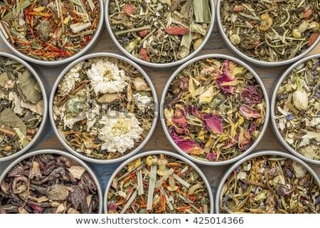 Peppermint leaves for tea blending Stock photo © ziprashantzi