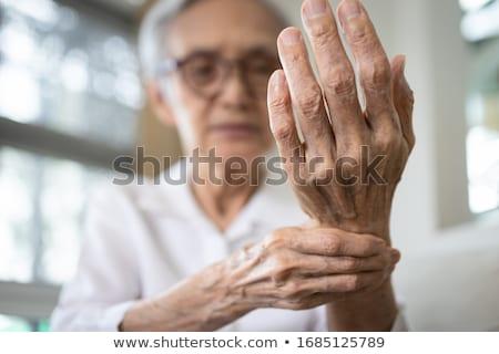 Mulher dolorido pulso escritório saúde Foto stock © wavebreak_media