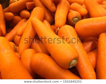 cenoura · macro · extremo · imagem · isolado · caminho - foto stock © Vectorex