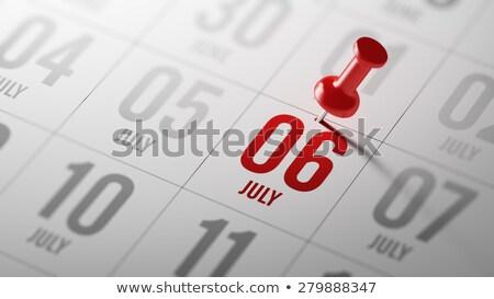 6th July Stock photo © Oakozhan