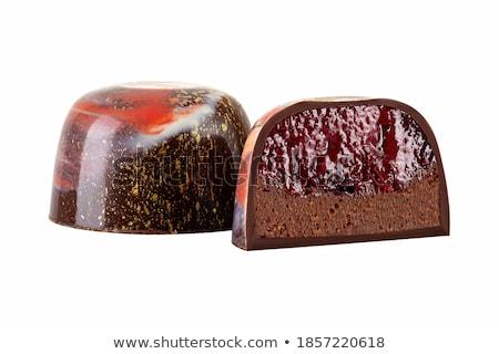 Latte cioccolato coppe liquore candy dolce Foto d'archivio © Digifoodstock