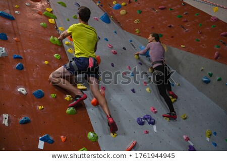 View arrampicata studio fitness Foto d'archivio © wavebreak_media