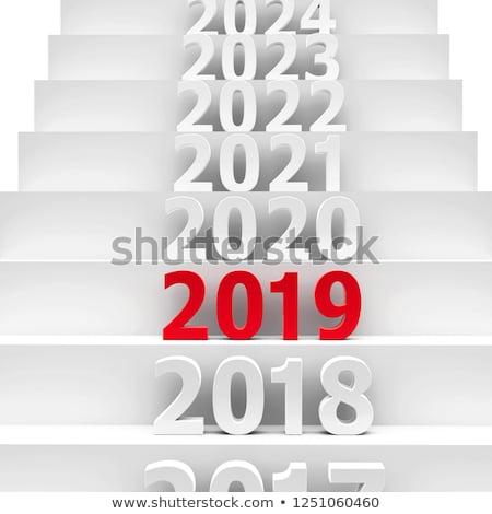 будущем · подиум · Новый · год · 3d · иллюстрации · бизнеса - Сток-фото © oakozhan