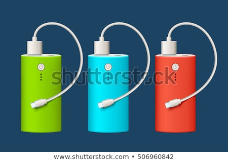 vector set of power bank Stock photo © olllikeballoon