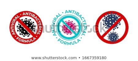 Antiviral antibacterial formula Stock photo © Zsuskaa