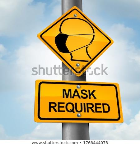 Mask Mandate Stock photo © Lightsource