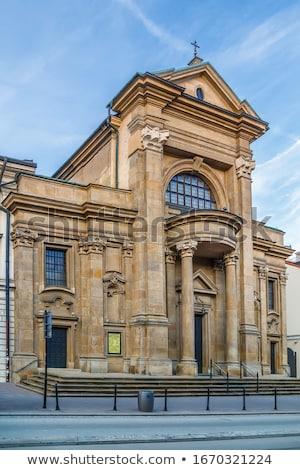 Kościoła Polska święty budynku miasta Zdjęcia stock © borisb17