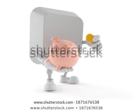 monet · domu · klucze · nieruchomości · finansów - zdjęcia stock © gewoldi